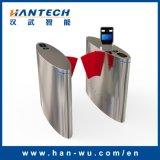 Cancello facciale astuto del cancello girevole della barriera della falda dello scanner dei prodotti automatici di obbligazione