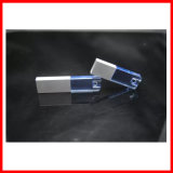 Movimentação impermeável do flash do USB da vara de cristal do USB