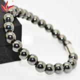 Шарика гематита высокого качества Htb001 браслет Beaded главный каменный популярный Beaded