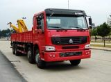 Hot Sale Straight Arm Folding Arm grue montée sur camion de 3-100 ton