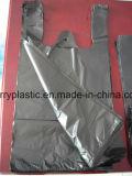 Sacs de transporteur de gilet de HDPE/sachets en plastique/sacs de T-shirt