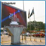 旗を広告する屋外のフルカラーLED