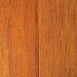 Bevloering van het Bamboe van Handscraped de T&G Gecarboniseerde Stevige Bundel Geweven