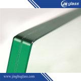 vidro laminado verde Tempered de 10.76mm