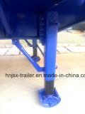 Bulk Container Transporte y 4 ejes Semirremolque