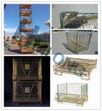 Контейнеры сетки клетки хранения пакгауза стальные