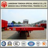 3-assen 40FT Aanhangwagen van het Vervoer van de Container Flatbed Semi