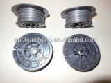 Galvanisierte/schwarze getemperte Ring-Draht-Befestigung für den Rebar, der Maschine bindet