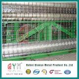 PVC上塗を施してあるヨーロッパの波の金網の/EuroのガードフェンスのAnpingの卸し売り工場