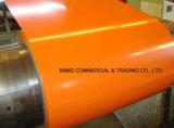 Carrelage chinois Acier Bobine d'acier laminée à chaud / à froid Bobine en acier revêtue de couleur Bobine en acier pré-imprégnée PPGI ASTM