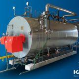De Stoom van de olie en de Boiler van het Hete Water