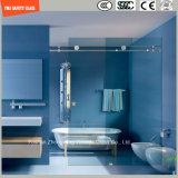 6-12 réglable glace Tempered glissant la pièce de douche simple, pièce jointe de douche, cabine de douche, salle de bains, écran de douche