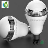 musique colorée d'acoustique de haut-parleurs d'ampoules d'éclairage LED Bluetooth de lampe sans fil de haut-parleurs de 6W