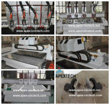 CNC 1813-4 di Heads 3D Wood Processing Engraving della punta Machinery