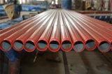 Pipe en acier d'arroseuse d'extrémité de la cannelure Sch10