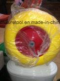 Tutta la rotella di gomma della gomma piuma dell'unità di elaborazione del poliuretano del carrello della carriola e della mano della prova di puntura di formato