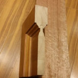 Carving (DS-8011)のヨーロッパ式のInterior Wood Door