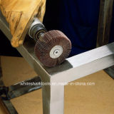 Rotelle abrasive della falda con l'asta cilindrica