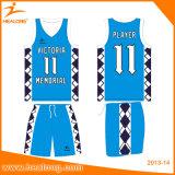 Baloncesto uniforme Jersey de la impresión del baloncesto