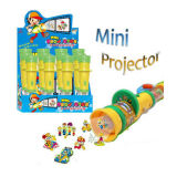 Mini plástico Projector Toy Candy, Toy Torch con Candy