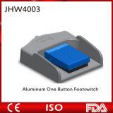 Interruptor de pé da unidade de Electrosurcial da tecla do alumínio dois do equipamento médico