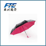 De de adverterende Zonneschijn van de Paraplu en Paraplu van de Regen voor Bevordering