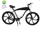 Buntes Fahrrad, motorisiertes Fahrrad beenden mit Mag-Rad