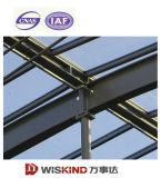 Edificio ampliamente utilizado de la estructura de acero tal como fábrica con el taller