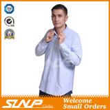Mens-Baumwollarbeitskleidungs-Hemd 100% mit langer Hülse