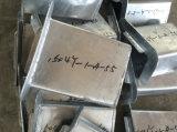 Peças galvanizadas da fabricação de metal do MERGULHO quente do OEM para o Stairway do External da construção