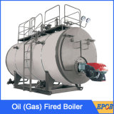 Gás despedido, caldeiras do petróleo de 8 toneladas de vapor do gás da eficiência elevada de Combi