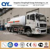 De Cyy do oxigênio líquido do nitrogênio do argônio caminhão de tanque criogênico do dióxido Cabochon