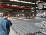 Rebar de acero, barra de acero deformida, hierro Roces para la construcción