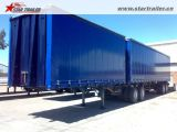 rimorchi di Tautliner del rimorchio di 3axles Curtainside semi da vendere
