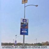 Солнечное напольное знамя СИД Поляк улицы рекламируя светлую коробку