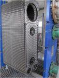 半溶接された版の熱交換器