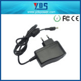 12V 1A de EU Wall Plug Adapter