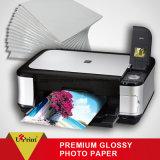 Водоустойчивый крен бумаги фотоего бумаги фотоего Inkjet Semi лоснистый