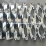 Folha de metal expandido em aço com baixo carbono