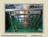 Edelstahl geschweißtes Rohr für Treppen-Anwendung