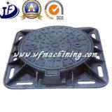 Крышка люка -лаза отливки утюга люка -лаза OEM дуктильная для дренажа подъездной дороги