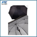 Guarda-chuva Windproof do golfe do ventilador das camadas dobro
