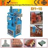 Machine de fabrication de brique hydraulique automatique de l'argile Sy1-10 dans Guangzhou Chine