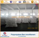 Fibre de macro de polymère de polypropylène de pp