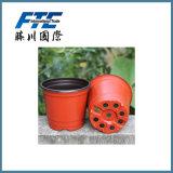 Flowerpot do quadrado do potenciômetro do potenciômetro de flor da fibra de planta/planta de Eco