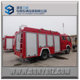 serbatoio di acqua Foam Fire Fighting Truck di 3000L+1000L Dfac 4X2