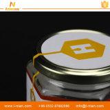방수 자동 접착 스티커 꿀 병 포장 레이블