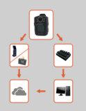 경찰 바디 사진기, 휴대용 유형을%s Senken 도킹 스테이션 사용