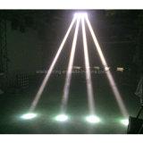 LED 거미 백색 LED 이동하는 맨 위 광속 8 눈 빛