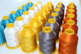 Alto-fuerza trilobulada del 100% Polyester Embroidery Thread 120d/2 los 4000m, Even Lubrication